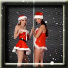 Dancing Christmas Girls LWP icon