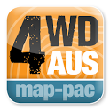 4WD Australia map-pac icon