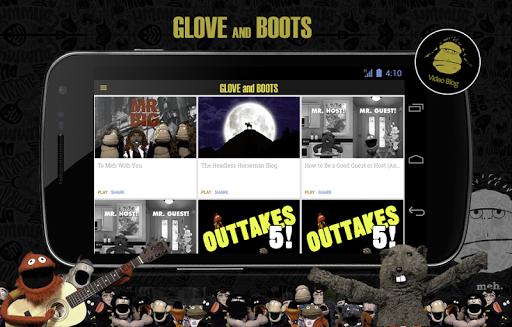 Glove Boots Fan App
