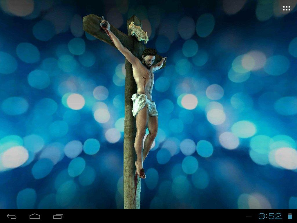 3D Jesus Christ Live Wallpaper Screenshot