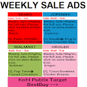 Weekly Sales Ads.