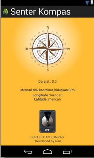 Senter Kompas By Alan DC