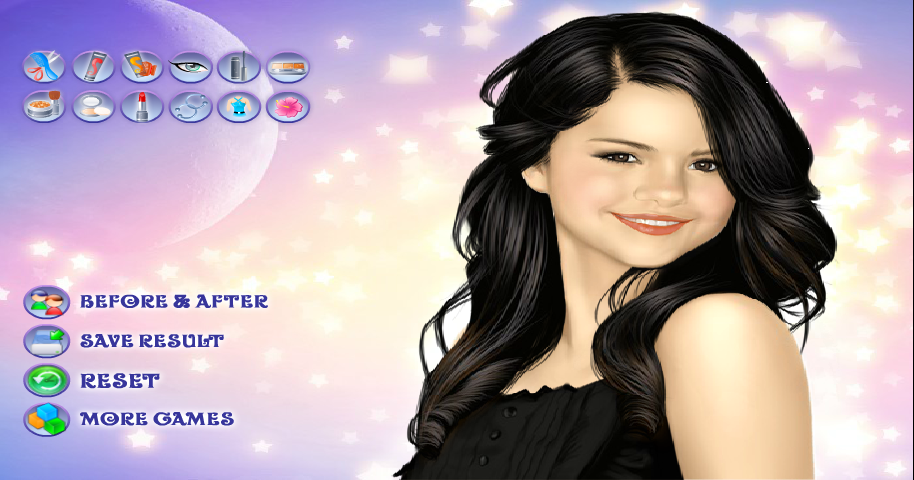 Selena Gomez Makeover - screenshot