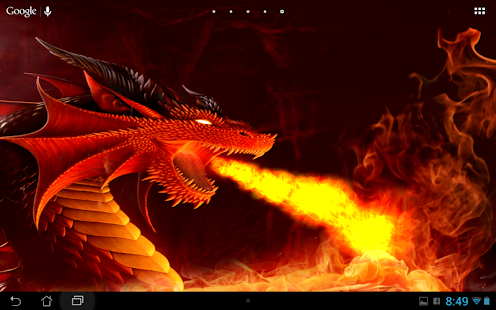 Dragon Live wallpaper - screenshot thumbnail