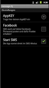 message.DJ - 6ct SMS worldwide- screenshot thumbnail
