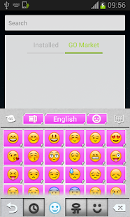 Pink Keyboard Stickers - screenshot thumbnail