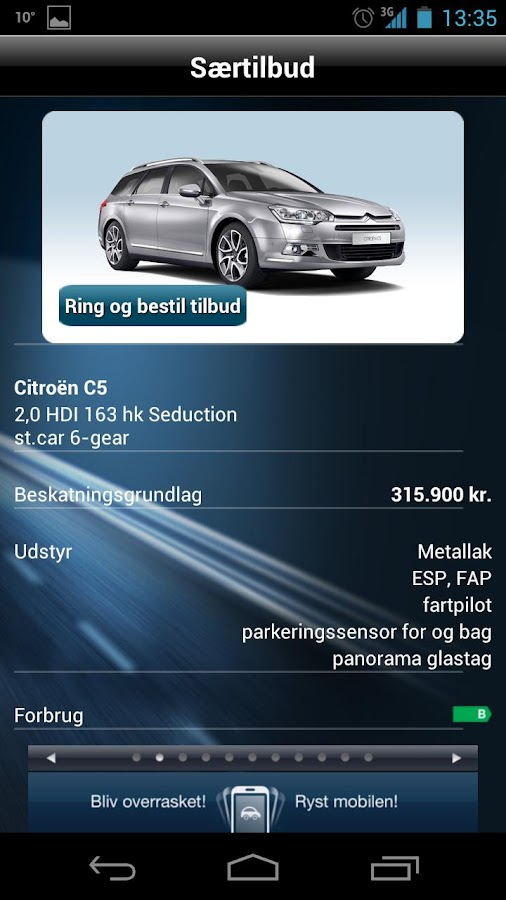 Nordania Leasing - screenshot