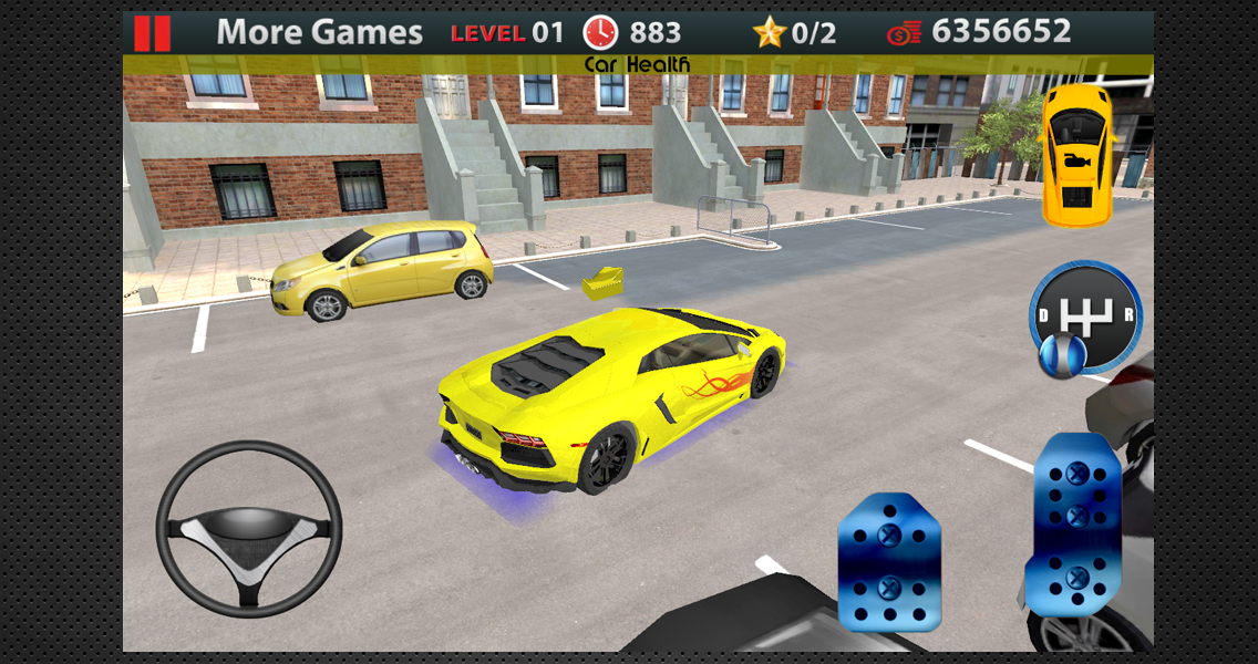 Driving School 3D Parking- screenshot