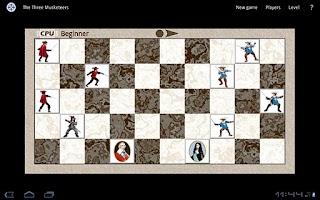 Screenshot of The Three Musketeers Game