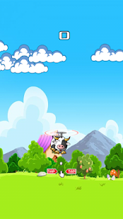 Cow Fly in Sky