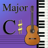 Learn Music Maj Scale Notes:C#