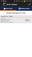 Screenshot of Secret Shopper ®