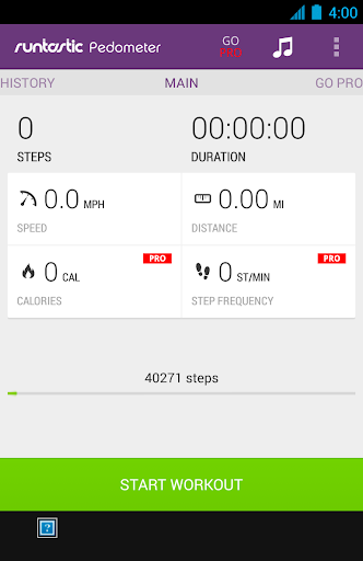 Runtastic Pedometer PRO 1.2.3.apk free download cracked on google play HiAppHere Market