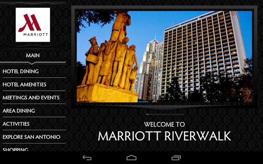 Marriott Riverwalk Hotel