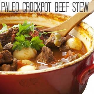 Paleo Crockpot Beef Stew.