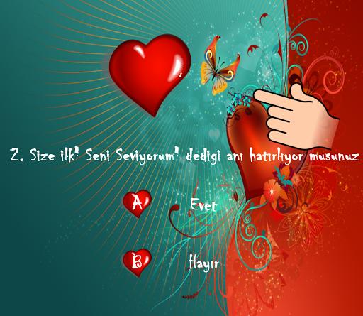 Aşk - Sevgi Testi