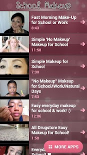 School Makeup - screenshot thumbnail
