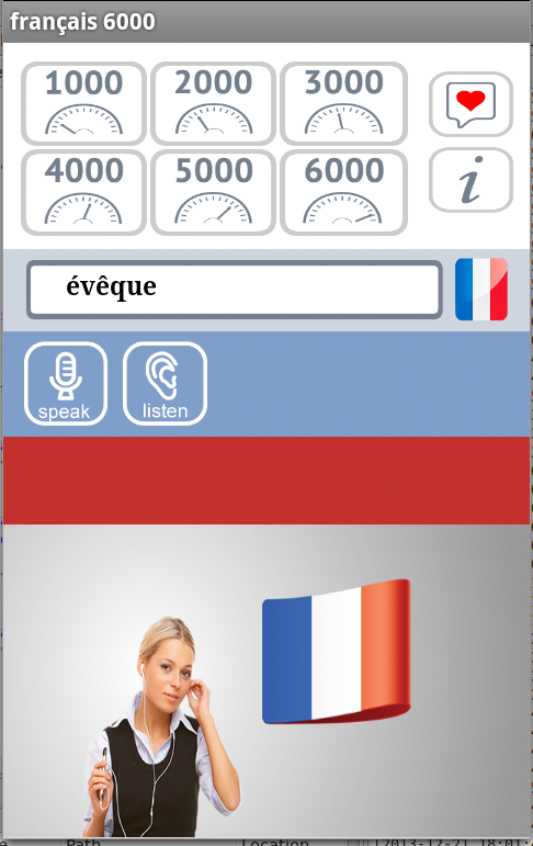 Francais 6000 Free- screenshot