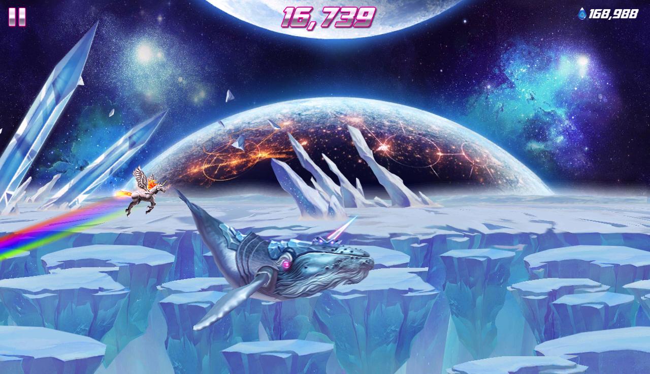 Robot Unicorn Attack 2– Capture d'écran