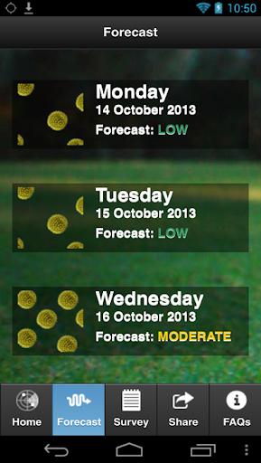 【免費天氣App】Canberra Pollen Count-APP點子