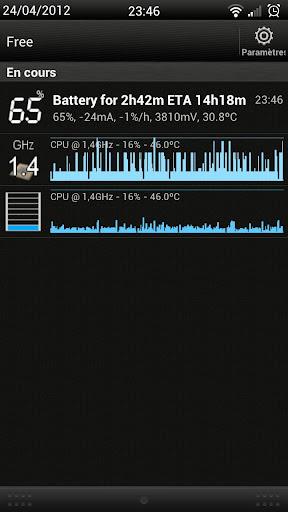 Process Monitor Widget screenshot 2