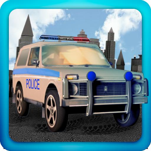 Lada Niva Police 3D LOGO-APP點子