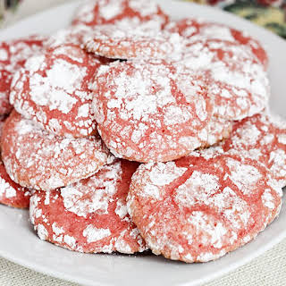 Strawberry Cool Whip Cookies.