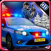 3D Police Car Patrol Simulator