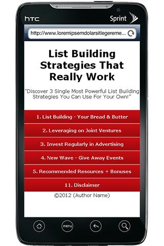 Ultimate List Builder