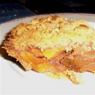 Deep Dish Persimmon Pie