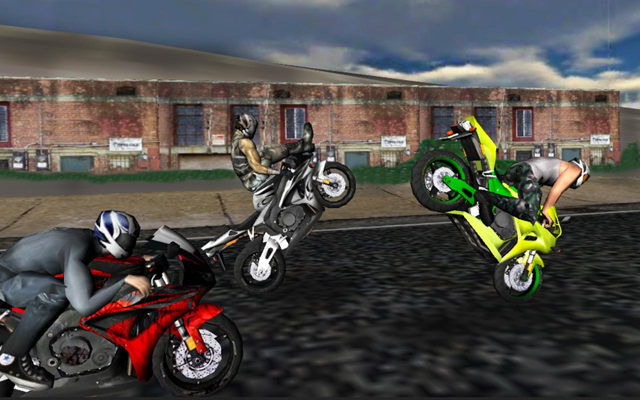 Race Stunt Fight! Motorcycles- screenshot