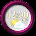 Modern Clock Weather Widget icon