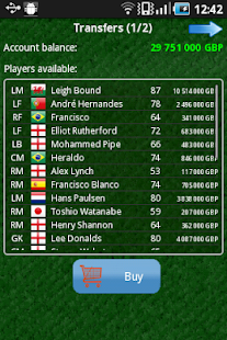 True Football (Manager) - screenshot thumbnail