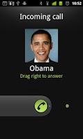 Screenshot of Fake the call pro