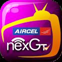 Aircel nexGTv Mobile TV icon