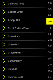 Bublmap London Tube - screenshot thumbnail