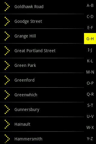 Bublmap London Tube - screenshot