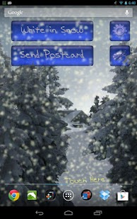 Winter Snowfall Live Wallpaper - screenshot thumbnail
