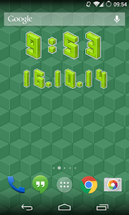 Pixel Art Clock Screenshot 3