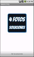 Screenshot of SOLUCIONES 4 fotos 1 palabra