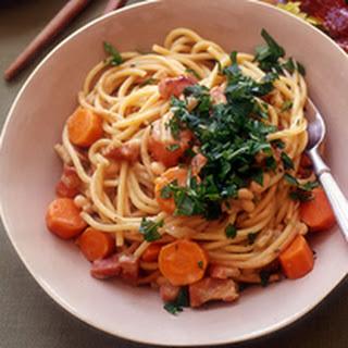Creamy Spaghetti.