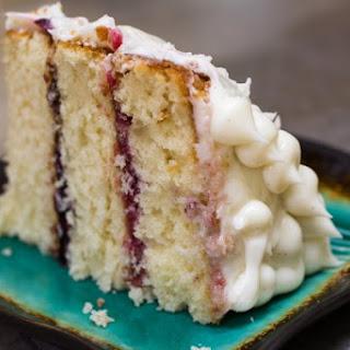 Vanilla Bean Yellow Cake