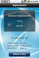 Screenshot of Emerson X-Check