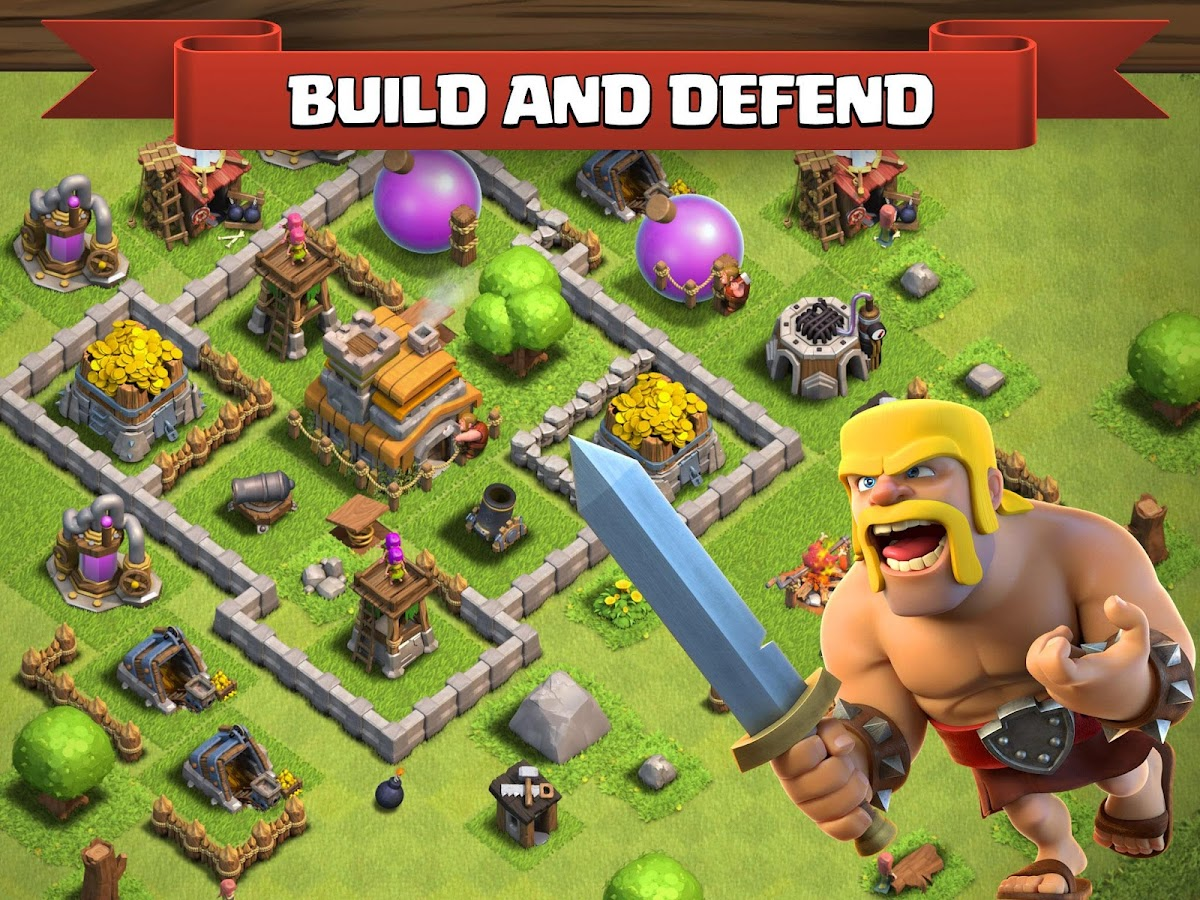 Screenshots of Clash of Clans for Android
