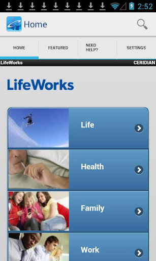 Ceridian LifeWorks Mobile