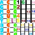 ABC 123 Puzzle Kids Phonics icon