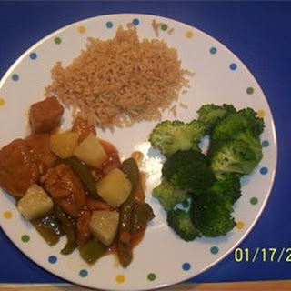Sweet and Sour Seitan