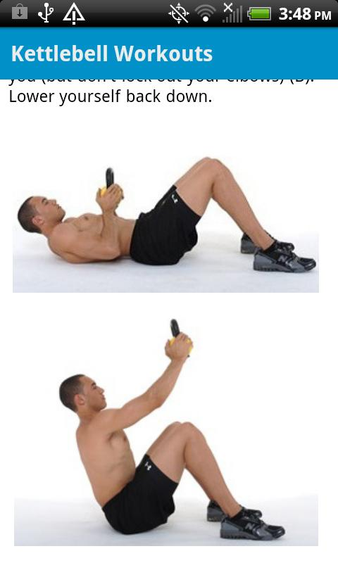 Kettlebell Workouts Free - screenshot