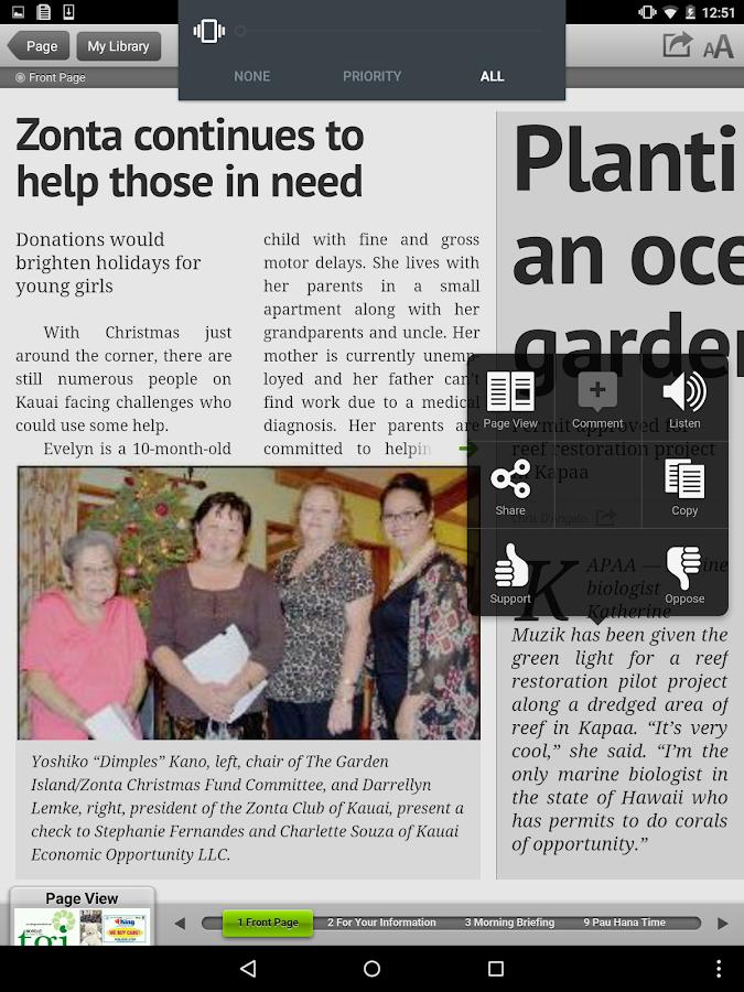 The Garden Island Newspaper App Garden Ftempo