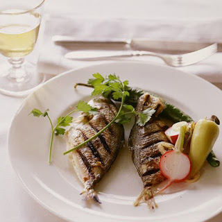 Grilled Butterfish.